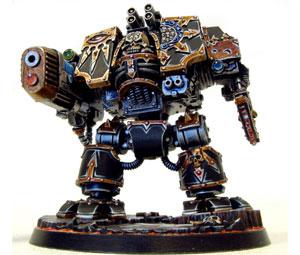 Dreadnought del Caos de la Legión Negra